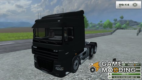 DAF XF 105 510 v 1.1 для Farming Simulator 2013