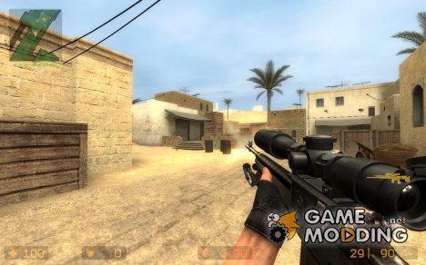 Smith SpecOps M14 Tactical для Counter-Strike Source