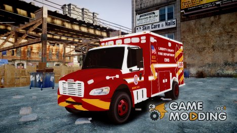 Freightliner M2 2014 Ambulance for GTA 4