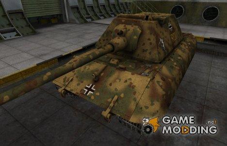Немецкий скин для E-100 для World of Tanks