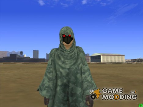Jill Crow Resident Evil 5 for GTA San Andreas