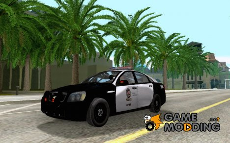 Chevrolet Caprice 2011 Police for GTA San Andreas