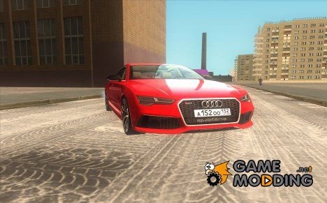Audi RS7 Sportback для GTA San Andreas