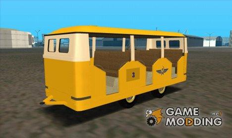 Прицеп для РАФ-980 «Рига» for GTA San Andreas