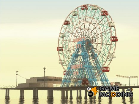 GTA IV Ferris Wheel Liberty Eye for GTA San Andreas