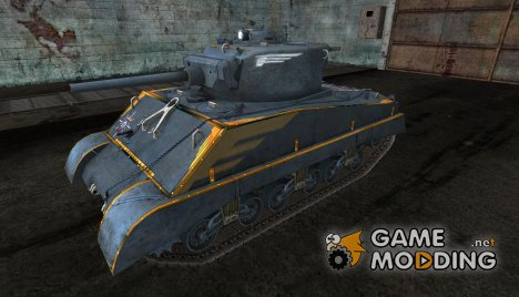 Шкурка для Sherman Jumbo for World of Tanks