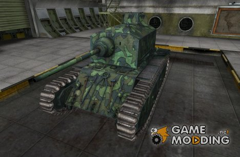 Шкурка для ARL 44 for World of Tanks