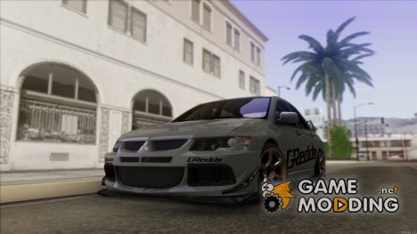 Mitsubishi Lancer Evolution for GTA San Andreas