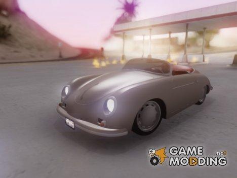 Porsche 356A 56 для GTA San Andreas