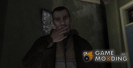 Smoking mod v3.3 for GTA 4