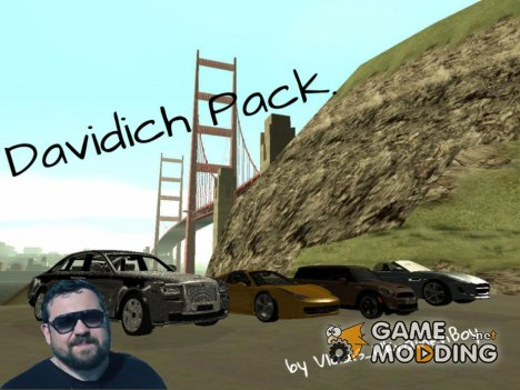 Davidich Pack для GTA San Andreas
