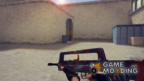 Famas Survivor Z Retexture for Counter-Strike 1.6