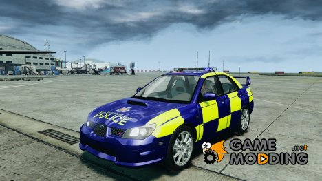 Subaru Impreza WRX Police for GTA 4