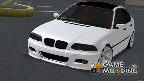 BMW 3 Series E46 M-kit 1998 для GTA San Andreas