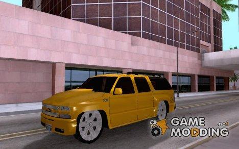 Chevrolet Silverado Suburban Tuning for GTA San Andreas