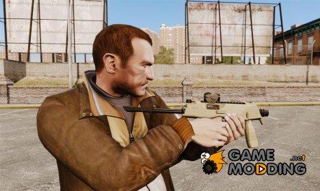 Тактический пистолет-пулемёт MP9 v4 for GTA 4