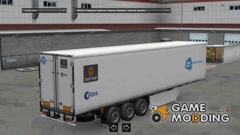 Dutch Supermarkets Trailers Pack v 1.3 for Euro Truck Simulator 2