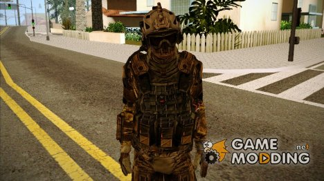 Солдат из команды Фантом 3 for GTA San Andreas