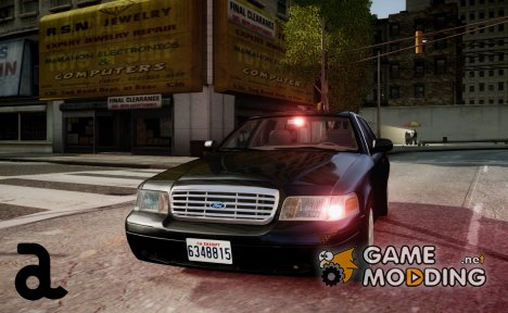 Ford Crown Victoria FBI for GTA 4