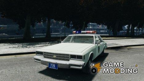 Chevrolet Impala Police 1983 for GTA 4