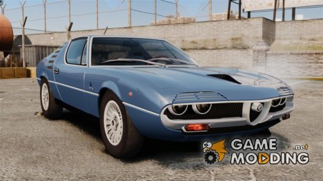 Alfa Romeo Montreal 1970 for GTA 4