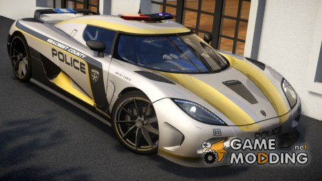Koenigsegg Agera Police 2013 [EPM] for GTA 4