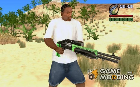 Новый SPAS для GTA San Andreas