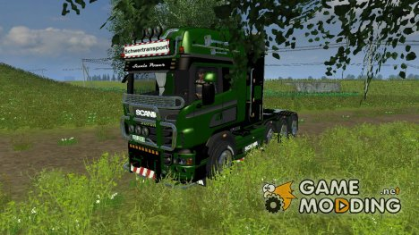 Scania R560 Templer Edition Green Turm для Farming Simulator 2013