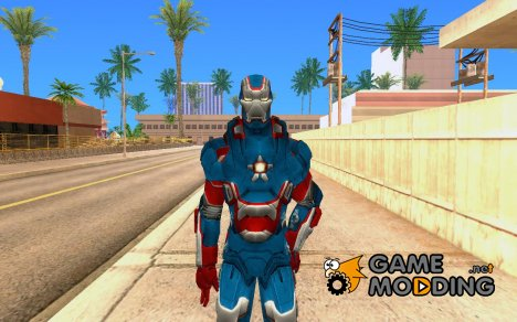 Iron man Iron Patriot для GTA San Andreas