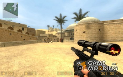 Public Enemy Mod team´s Steyer Aug для Counter-Strike Source