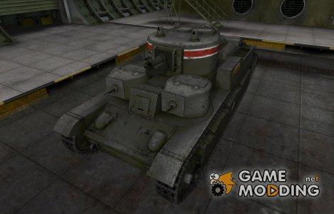 Исторический камуфляж Т-28 for World of Tanks