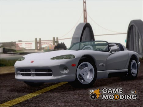 Dodge Viper RT-10 1992 (ImVehFt) for GTA San Andreas