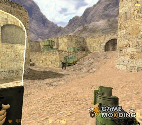 Новые текстуры гранат и прозрачный тактический щит for Counter-Strike 1.6