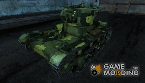 Шкурка для Т-26 for World of Tanks