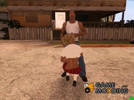 Вызвать проститутку for GTA San Andreas