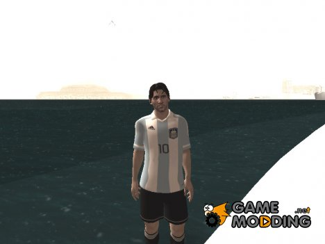 Messi AFA for GTA San Andreas