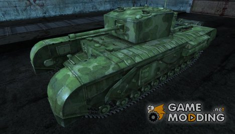 Черчилль Rudy_102 for World of Tanks