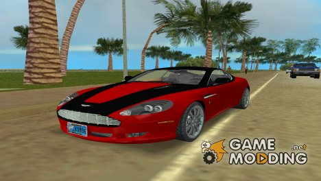 Aston Martin DB9 v.2.0 for GTA Vice City
