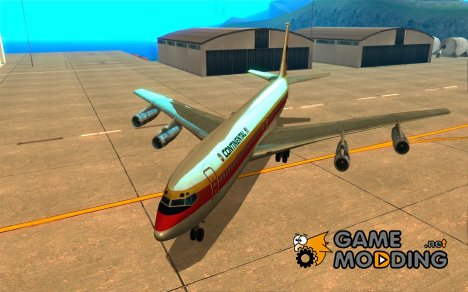 Boeing 707-300 for GTA San Andreas