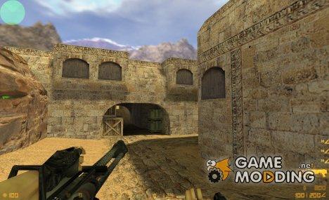 Minigun Skin для Counter-Strike 1.6