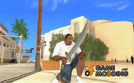 Falchion Sword of Final Fantasy для GTA San Andreas