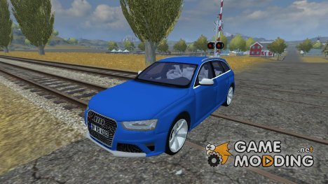 Audi RS4 Avant for Farming Simulator 2013