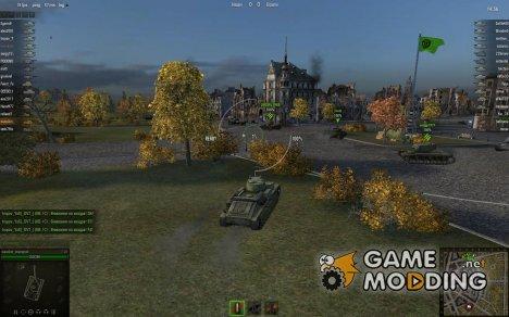 Белые прицелы for World of Tanks