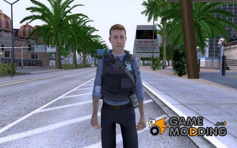 Сотрудник МВД из COD MW 2 для GTA San Andreas