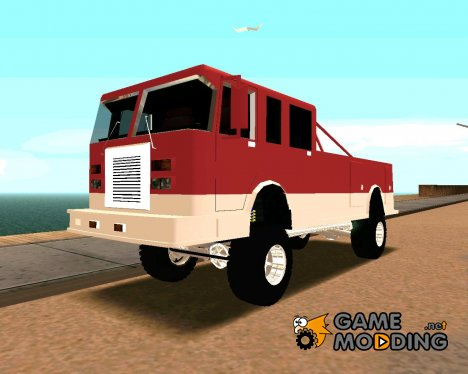 Offroad Firetruck for GTA San Andreas