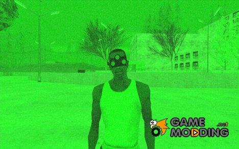 Прибор ночного видения Splinter Cell Goggles for GTA San Andreas