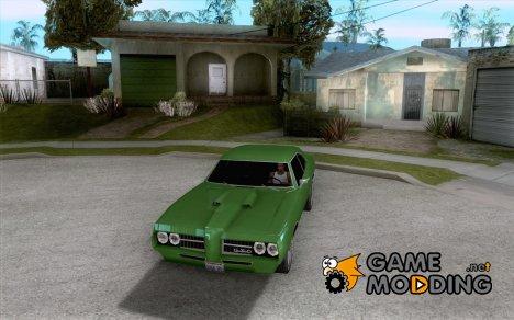 Pontiac GTO 1969 для GTA San Andreas