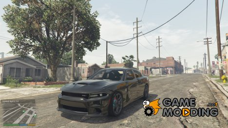2015 Dodge Charger Hellcat SRT 2.0 for GTA 5