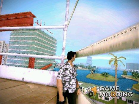 Hawaii Hemd для GTA Vice City