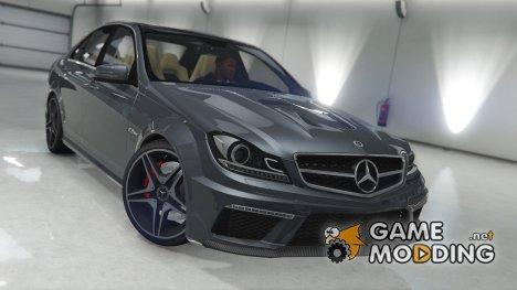 Mercedes-Benz C63 AMG v1.0 for GTA 5